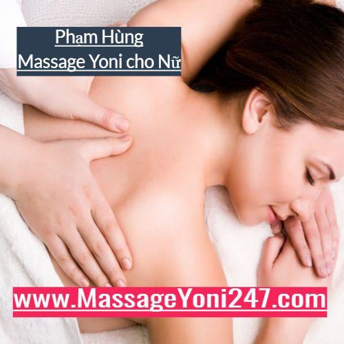Massage yoni tạo cảm giác thoải mái