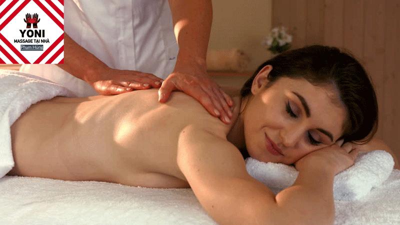 Massage Yoni giúp giải tỏa tâm trạng