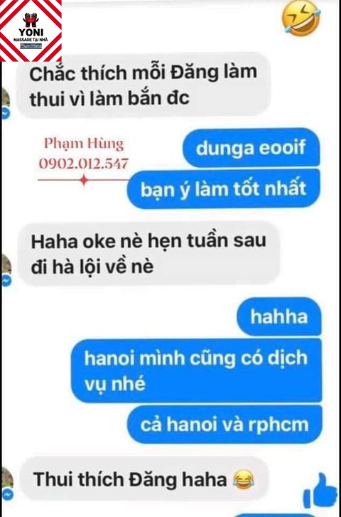 Phản hồi của khách quen tại Massage Yoni Phạm Hùng